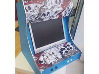 Retro Arcade Desk Box 2 Player Emulator 700 Games Sega Mega Drive Nintendo SNES Gameboy - NEEW