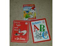 DR SEUSS DVD BOOK BUNDLE
