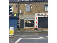 SHOP / OFFICE UNIT TO LET FOR RENT! TONG STREET BRADFORD EXCELLENT BUSINESS WALKING TRADE