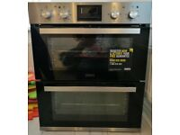 Zanussi built-under electric double oven