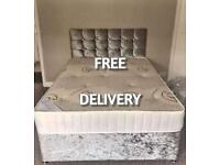 CHEAP DIVAN BEDS!! Free headboard and delivery with order!!