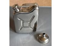 Hip Flask in the shape of a Fuel Can