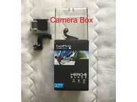 GoPro Hero 4 Black With Samsong 32gb and 8gb Card, used a few times, With lots of exteras £395