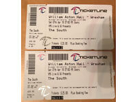 The (Beautiful) South Tickets, Wrexham, Sat 7 April 7:30pm - 2 Front Row Seats (Stalls)