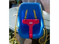 Little Tikes CHILD SWING SEAT BUCKET SEAT