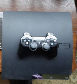 250gb Playstation 3 and games