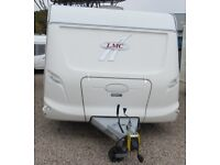 LMC, LORD AMBASSADOR 660 P, 2006 *FIXED ISLAND BED* 4 BERTH CARAVAN*REDUCED WAS...£8450*