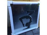 Gorgeous, Large All Glass Wall Art. New / Boxed