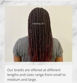 Micro Rings, Braids, Stitch-in Weave, Sewn-in Weave, Corn Row