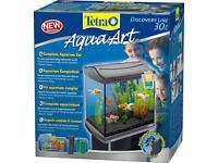 Aqua fishtank 30 littes