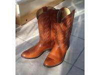 Laredo Genuine American Leather Cowboy Boots