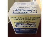 37 Removal / storage / house move boxes (2 sizes)