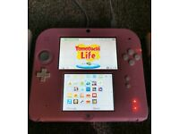 Excellent Condition. 2DS. Pink.