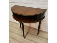 G-plan E Gomme Half Moon Table (DELIVERY AVAILABLE FOR THIS ITEM OF FURNITURE)