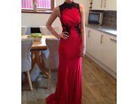 Stunning Sherri Hill red evening / prom dress size 6 to 8