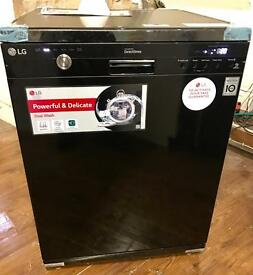 BRAND NEW LG DIRECT DRIVE FULL SIZE FREESTANDING DISHWASHER IN BLACK BARGAIN ...!!!
