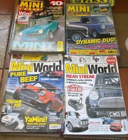 MINI WORLD MAGAZINE COLLECTION (76 IN TOTAL)