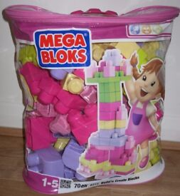 Mega Bloks – Bag of First Builder Blocks - £7