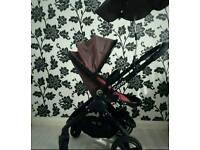 Icandy Peach Berry Bon Bon Single buggy stroller pushchair Good Condition