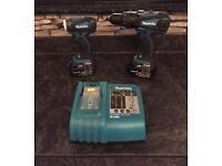 Makita impact driver drill set