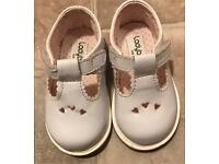 White patent shoes toddler size 3.