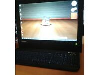 LOVELY LENOVO ALL IN ONE PC . CHEAP -wireless-superb quality