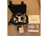Yuneec Breeze camera drone with case, extra batteries and more