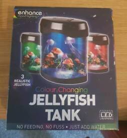 Colour Changing Jellyfish Tank