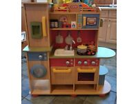 "Little Tykes ""Cooking creations"" premium wooden kitchen and accessories"