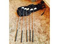 Set of Iron golf clubs