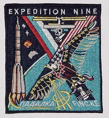 Aufnäher Patch Raumfahrt ISS Expedition 9  Sojus TMA-4 ..........A3175