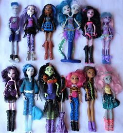 Invisi Billy, Casta, River Styx etc Monster High Dolls ind priced from £6