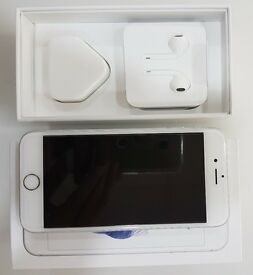 iPhone 6S White Silver , 128GB, Any Sim , in Excellent Condition Like Brand New , Fully Boxed