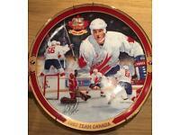 Plate 1987 team Canada