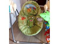 Baby rainforest swing chair