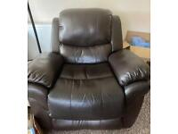 FREE recliner armchair see description