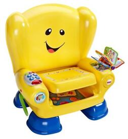 """Fischer Price """"Laugh n Learn"""" Smart Stages interactive chair."""