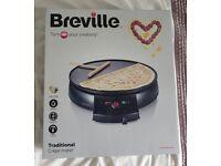 Brand new Boxed Breville Crepe Maker