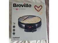 Brand new Boxed Breville Crepe Maker