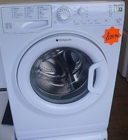 1 - 7kg load Hotpoint WMAQB 741 1400 spin washing machine