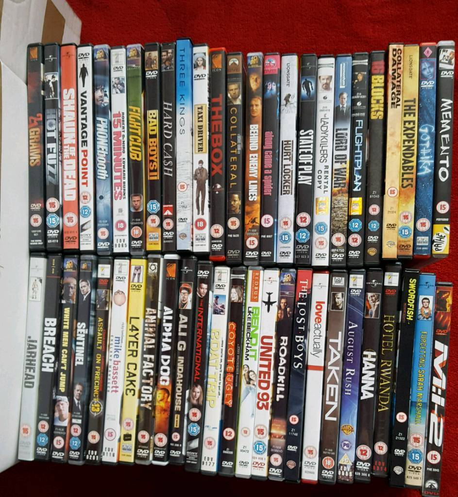 Dvd bundle, job lot