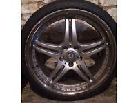"""19""""Mercedes alloy rims"""