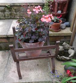 Antique ,Wrought iron Log Holder/rack ,storage, fire place, firewood, basket