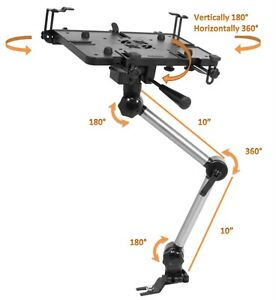 Mobotron-Standard-Universal-Car-iPad-Notebook-Laptop-Mount-Holder-Stand-MS-426