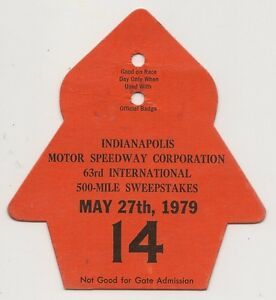 1979-Indianapolis-500-Back-Up-Card-14-for-Pit-Badge-Credential-IndyCar-Indy500