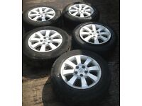 Vauxhall Astra H/Zafira B 5 Stud Alloys (set of 5)195/65/15.