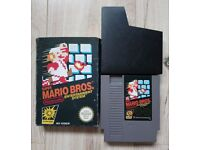 Super Mario Brothers NES PAL Complete