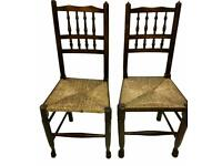 pair vintage chairs £15 each