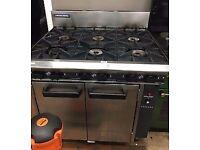 Blue seal cooker 6 burner