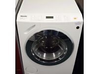 Miele washing machine in white
